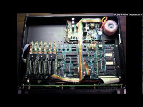 Wersi EX20 demo (avant garde elektronische musik)