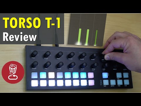 TORSO T-1 // Generative sequencer review and tutorial