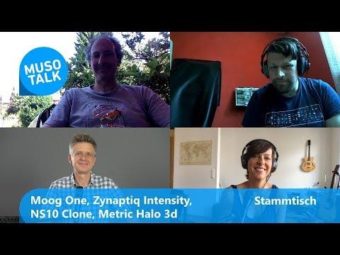 Moog One, Zynaptiq Intensity, NS 10 Klon, Metric Halo 3 D - Stammtisch