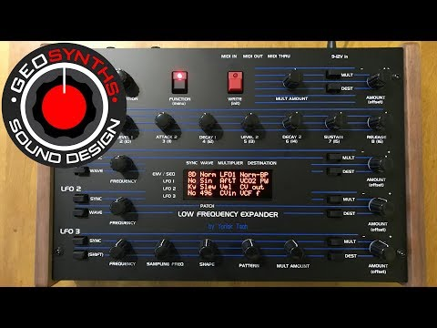 Low Frequency Expander for DSI OB6, Sequential Prophet 6 and more - Yorick Tech