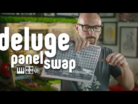 Changing the Synthstrom Deluge 3.0 Panel