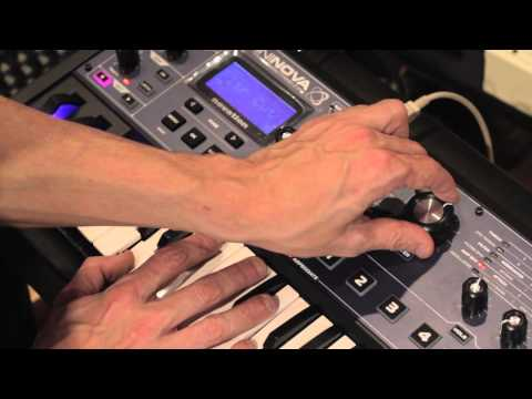 Novation // MiniNova synthesizer artist first look