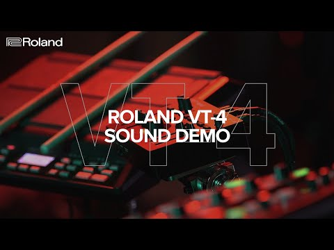 Roland VT-4 Voice Transformer Sound Demo