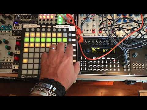 Percussive Rig with Westlicht Performer and Launchpad Mini