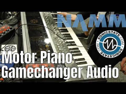 NAMM 2019: Gamechanger Audio Motor Piano - Poly Synth Madness...
