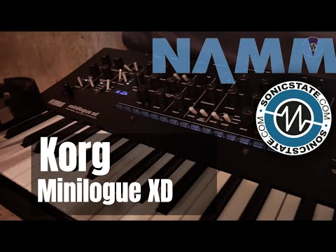 NAMM 2019: Korg Minilogue XD