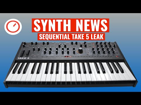 SYNTH NEWS: Sequential Take 5 Poly Analog Synthesizer Leak