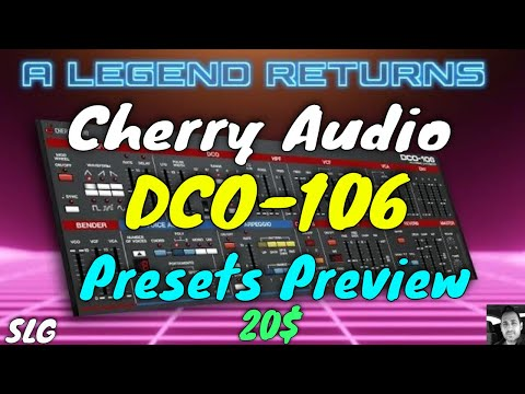 Cherry Audio   DCO 106   Presets preview (no talking)