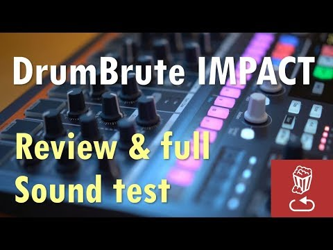New DrumBrute Impact Review and Full Sound Test