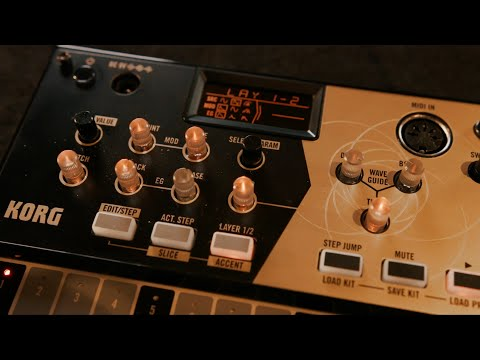 KORG volca drum: Welcome to an infinitely expanding world of sound-design