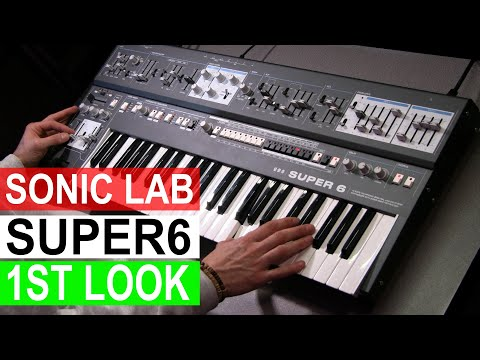 UDO Super 6 Synthesizer - 1st Look Sonic LAB