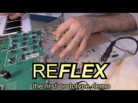 SOMA REFLEX (demo of the very first prototype and announce of the project)