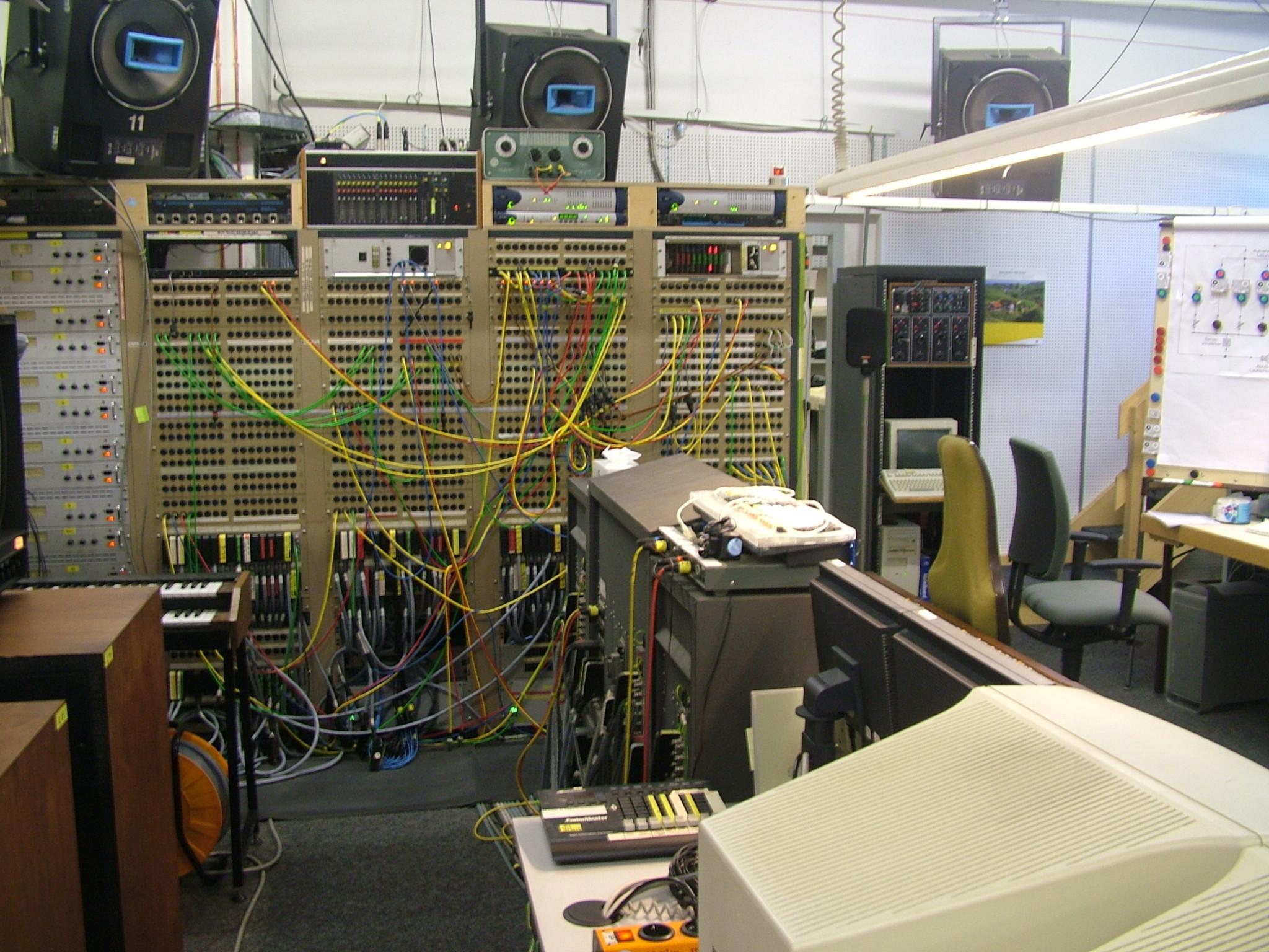Studio fГјr elektronische musik