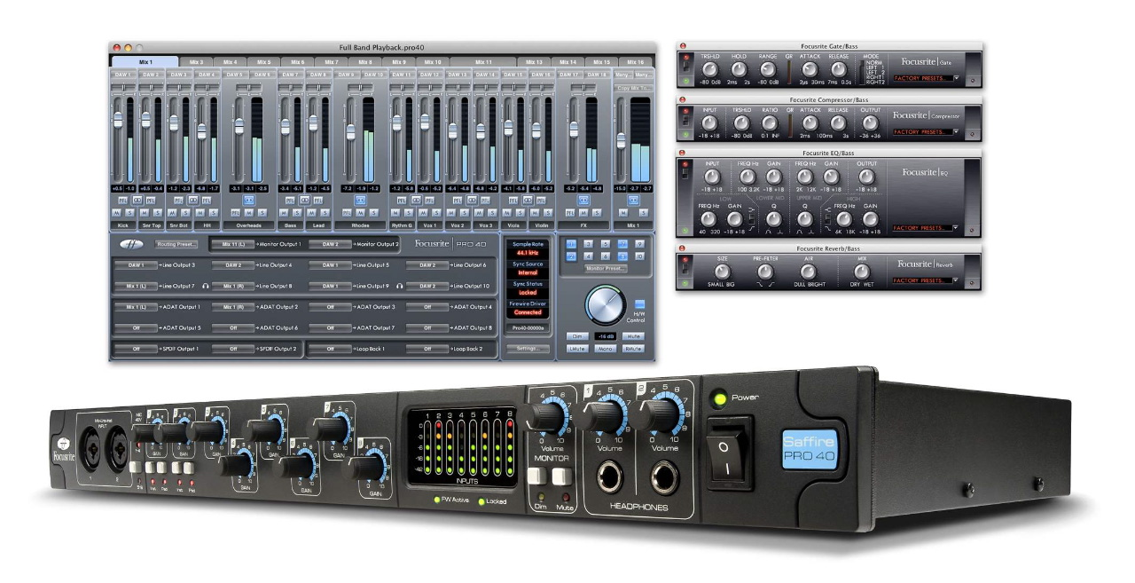 Focusrite Liquid Mix 16 Firewire Audio Interface Price Remains Stable Musical Instruments & Gear