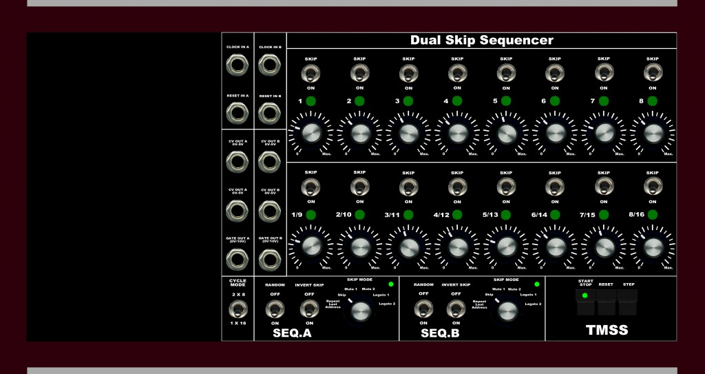 tmss dual Skip sequencer