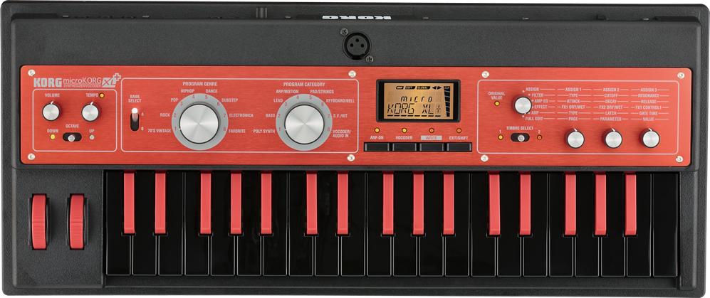 Korg MicrokorgXlPlus synthesizer