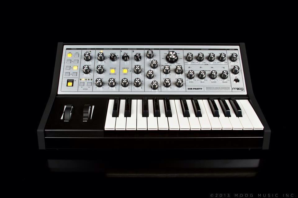 Moog SubPhatty synthesizer
