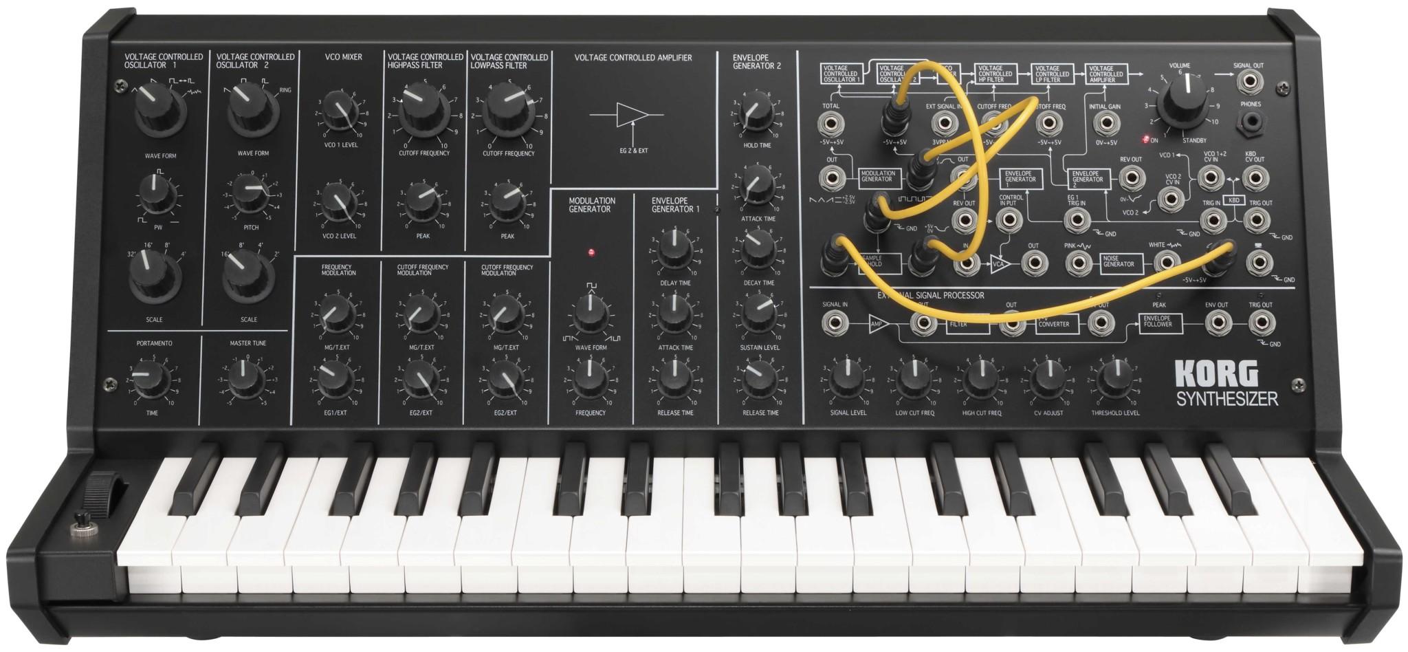 MS20 Mini MS-20 Mini synthesizer
