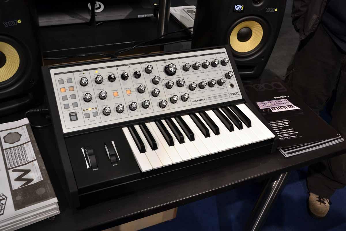 Moog Sub Phatty Moog Sub Phatty synthesizer