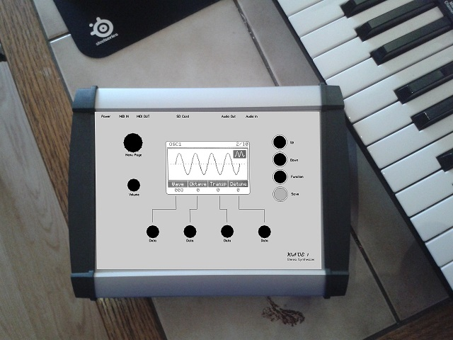 AVR Synthesizer WAVE1