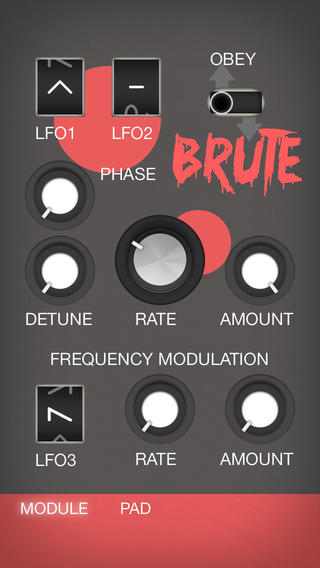 Brute LFO Pad Demo - YouTube