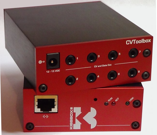 kissbox network  wifi to midi to cv - the missing link