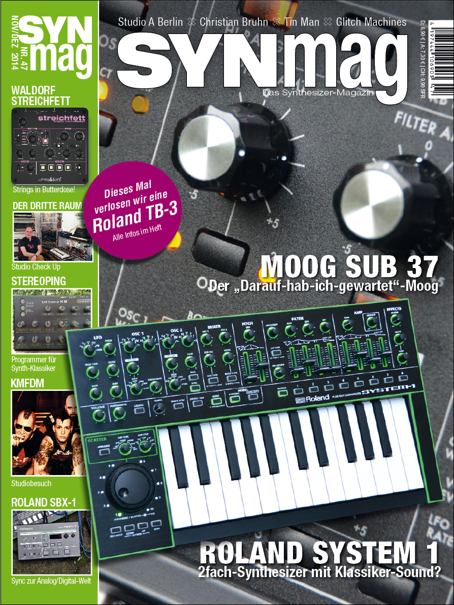 SnyMag 47 Das Synthesizer-Magazin