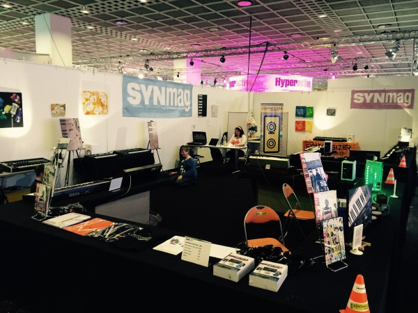 SynMag Stand E37 Musikmesse