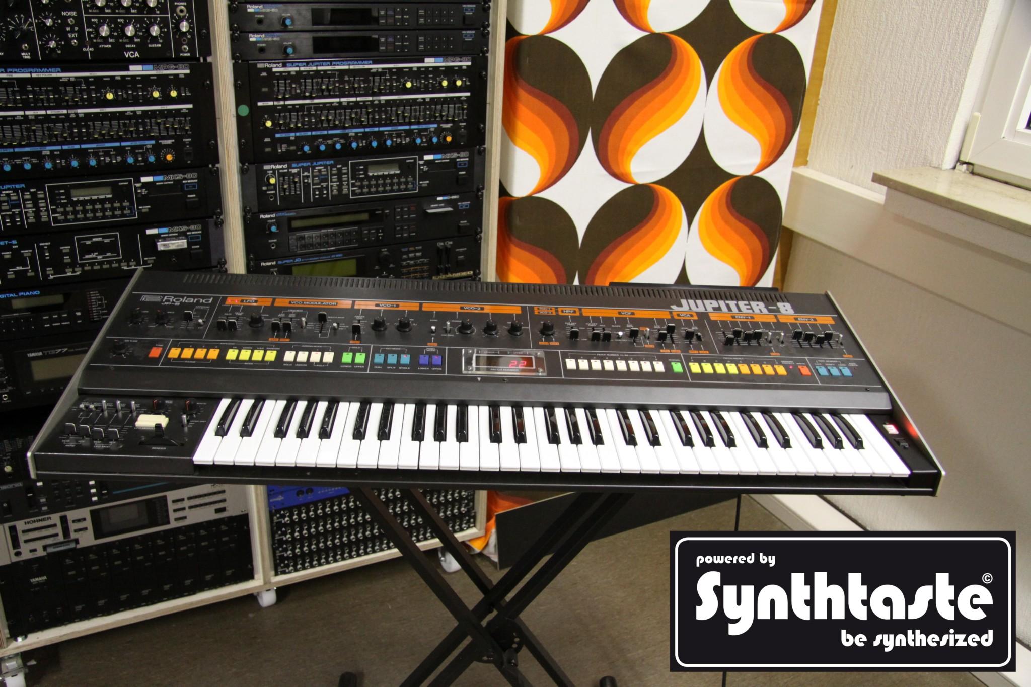 Jupiter 8 Synthtaste Speicher
