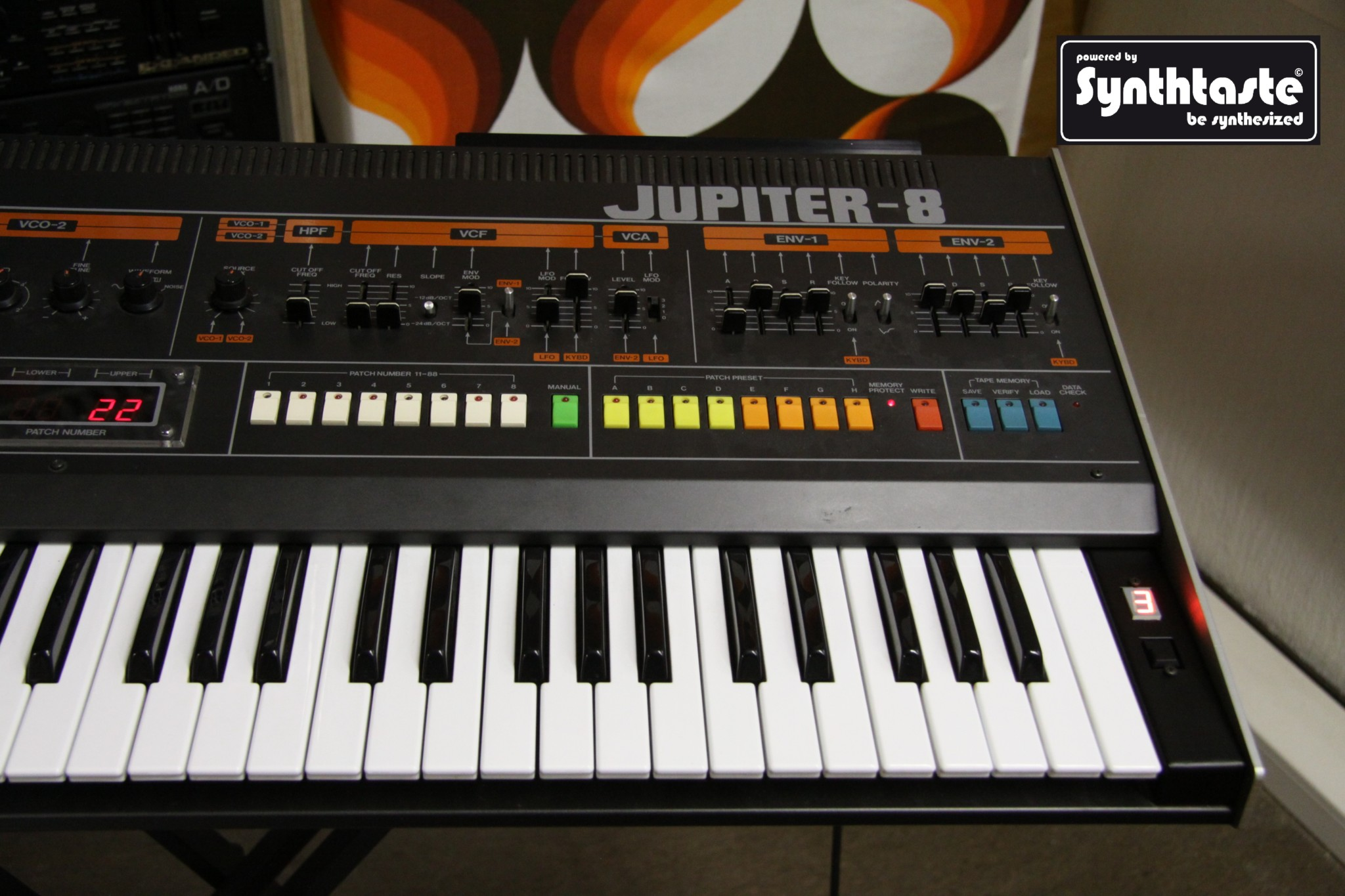 Synthtaste MemoryExpansion Jupiter8