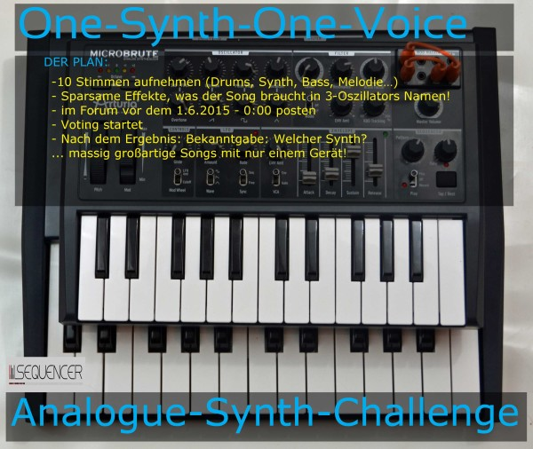one-synth-one-voice challenge