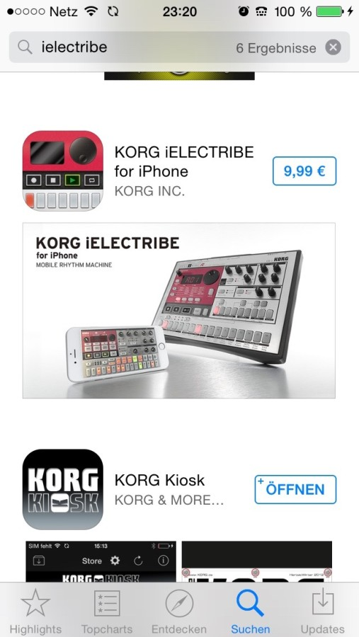 Korg iElectribe iPhone