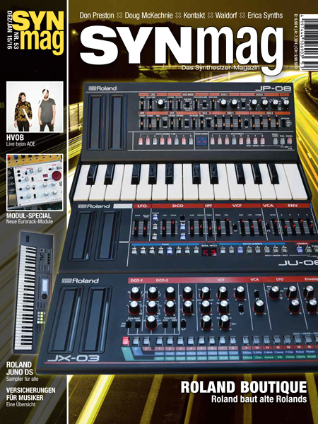 SynMag 53 - Das Synthesizer-Magazin