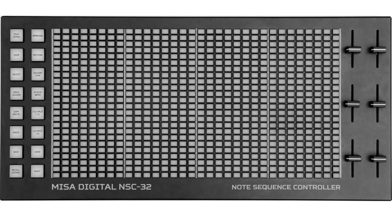 Misa-Digital-NSC-32-MIDI-USB-Controller-Sequencer