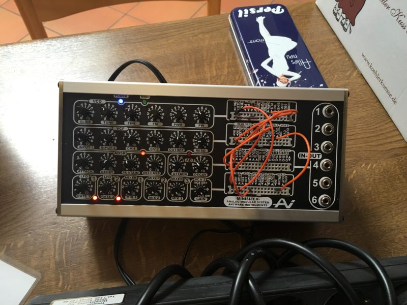 anyware minisizer modular synthesizer