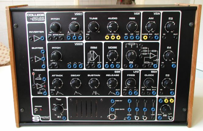 synton college kleiner synth