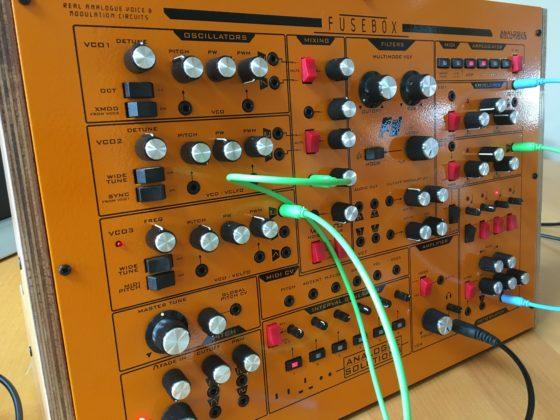 Analogue Solutions Fusebox Synthesizer Leak