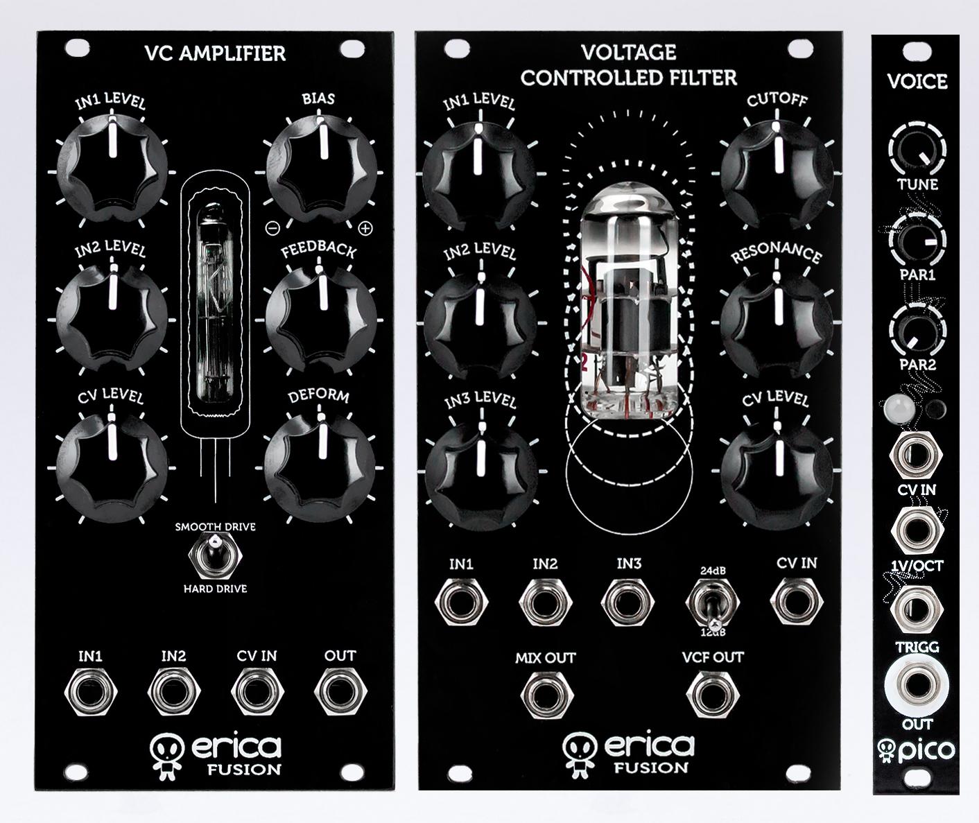 Erica Fuison-VCF+VCA-mk2 + Pico Voice