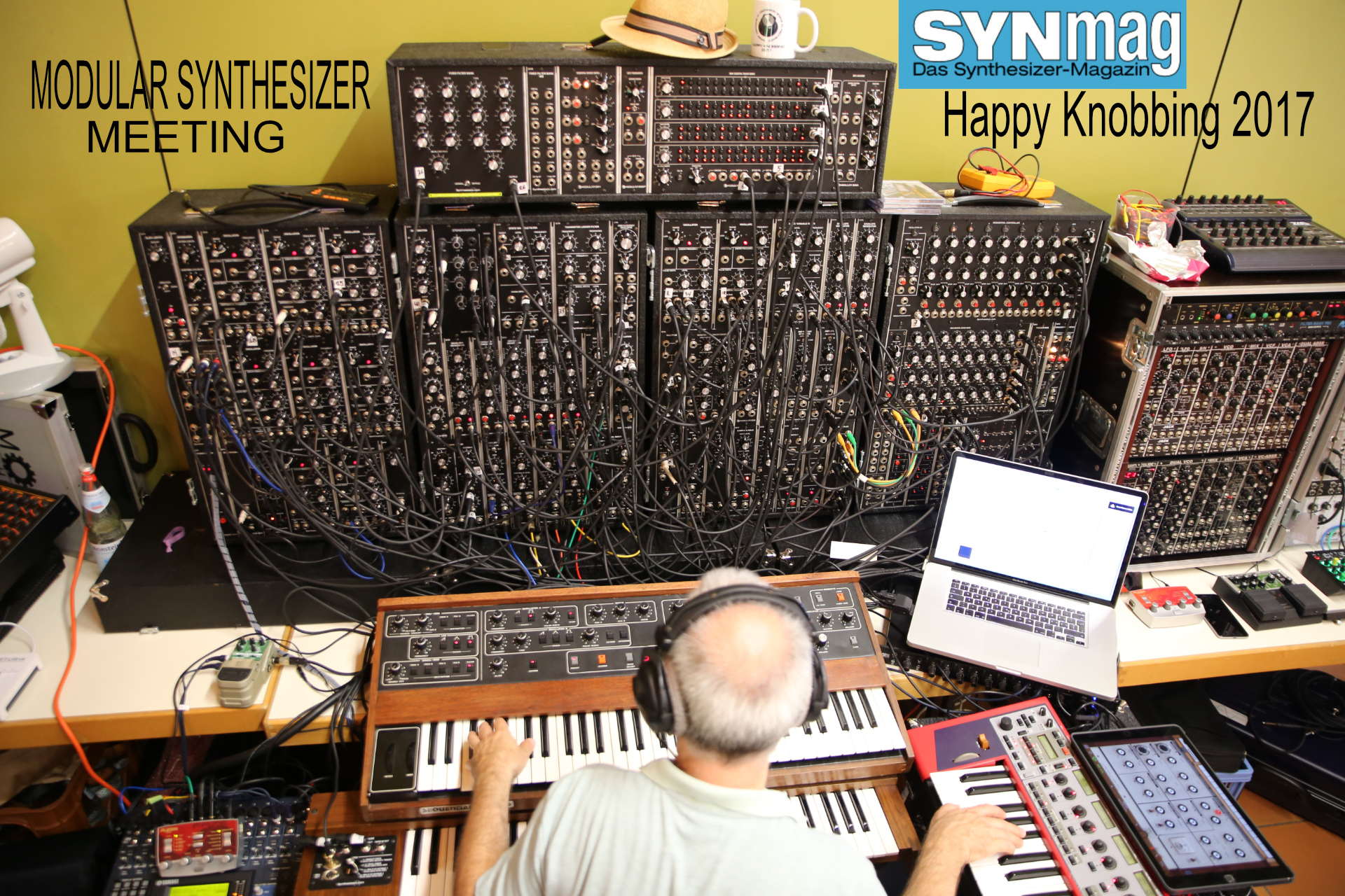 Happy Knobbing Modular Synthesizer Meeting, Fischbach / Germany