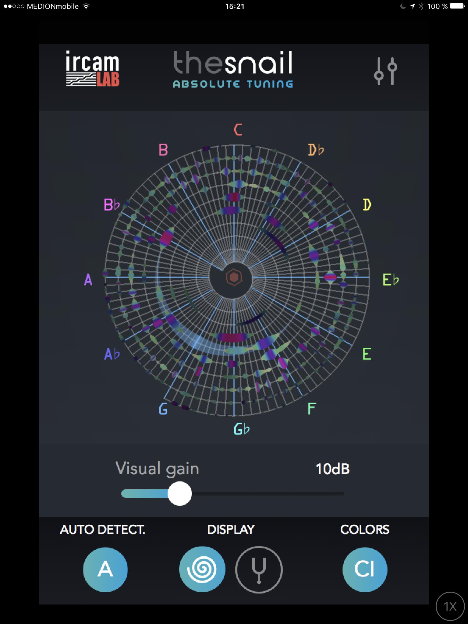 the Snail - Tuner App