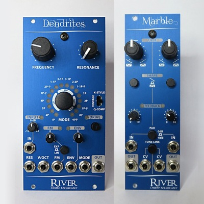 river dual eurorack module