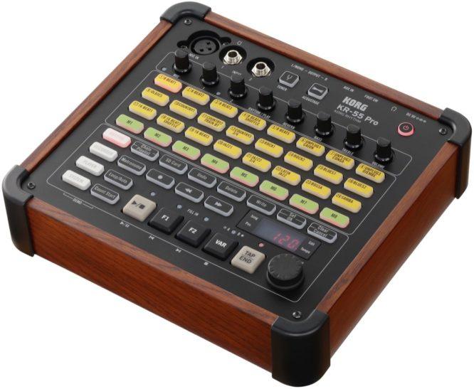 Korg KR55 Pro drummachine