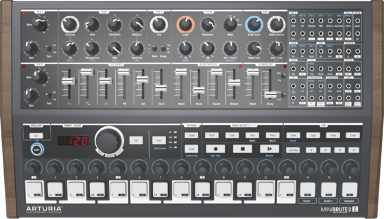 MiniBrute2S Sequencer Synthesizer