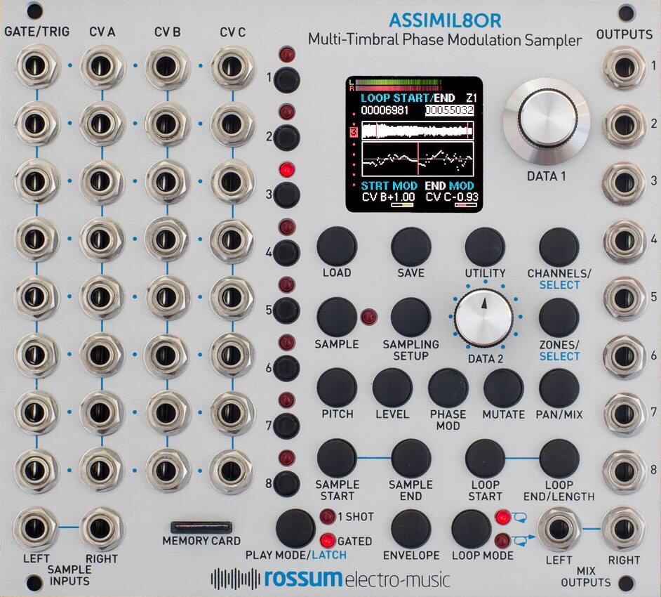 Rossum Asimil8or Sampler