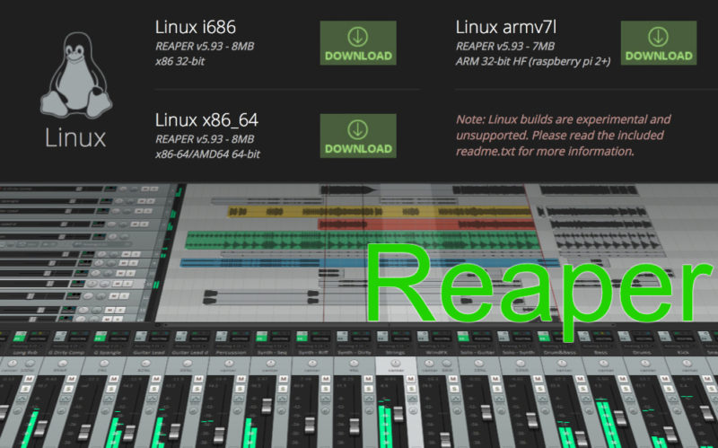 Reaper Linux