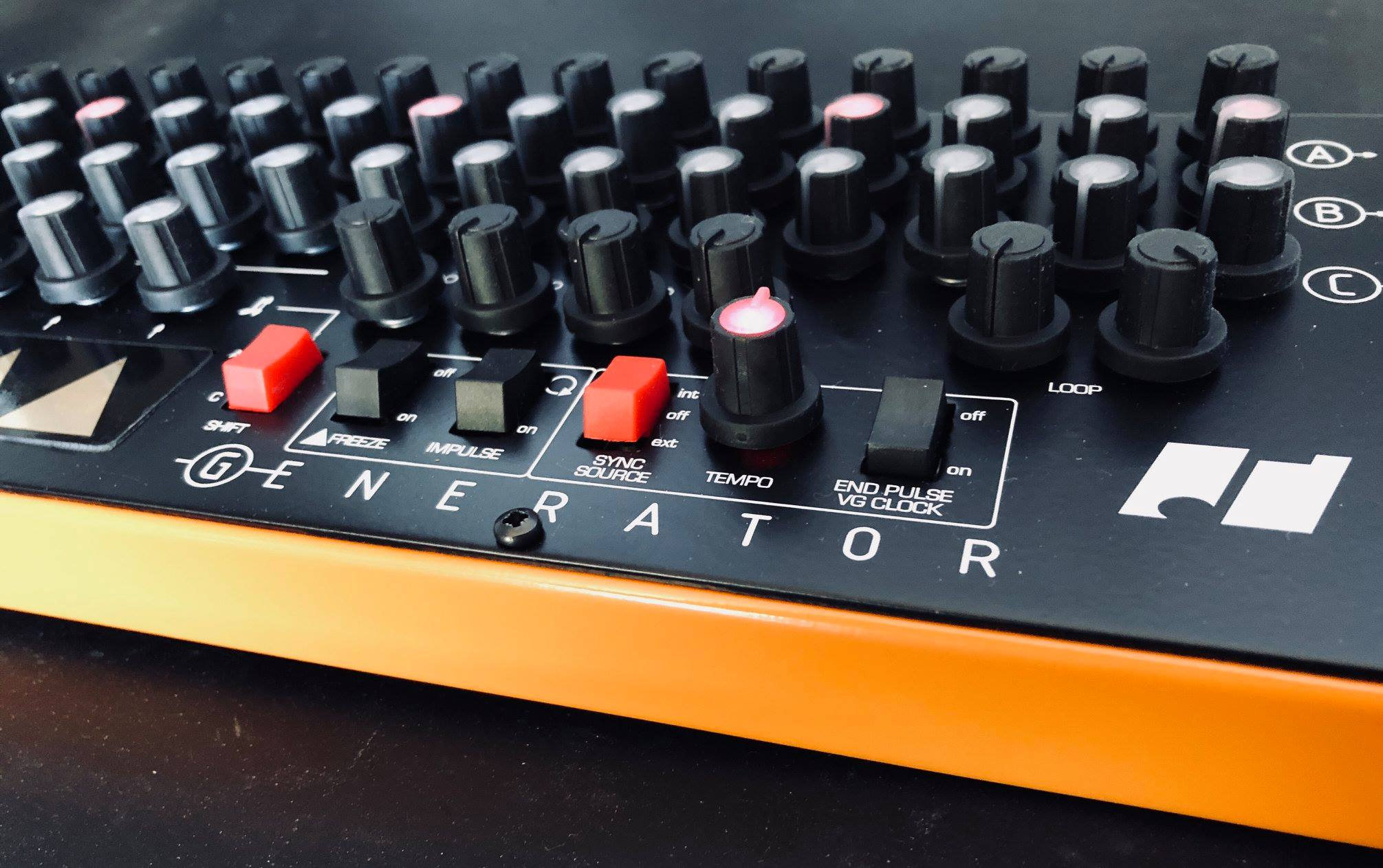 Analogue Solutions generator detail Sequencer