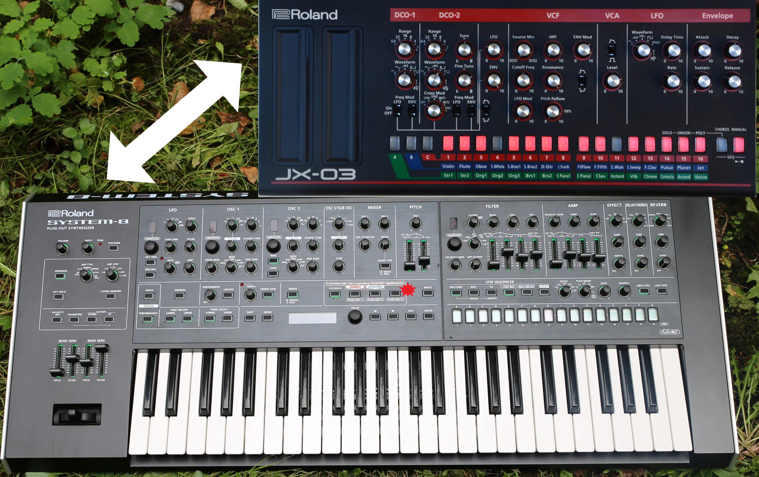 System 8 Plugout JX3P
