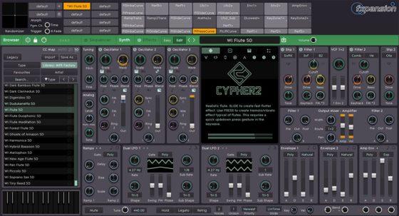roli cypher 2 synth