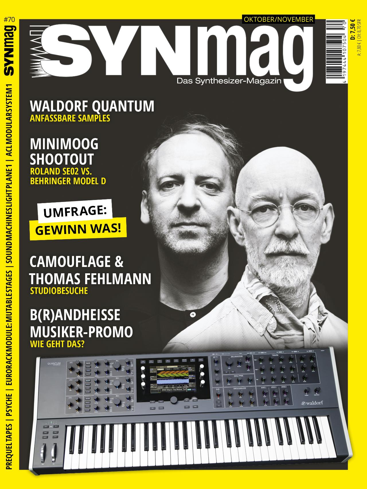 Synmag 70 Das Synthesizer-Magazin