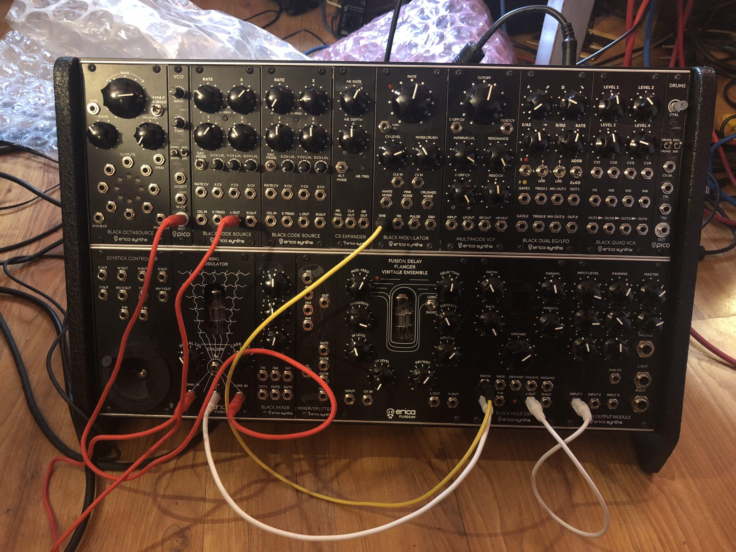 Erica LSB dada noise system